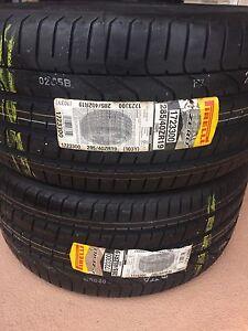 285/40r19 Pirelli pzero Summer Tires
