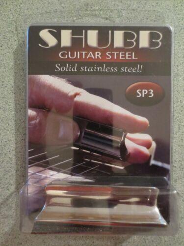 Shubb SP3 Slide Bar Guitar Lap Pedal Stainless Steel GS-40