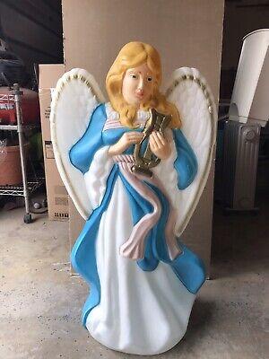Vintage Angel Blow Mold Plastic