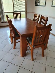 Settlers 7 piece dining set