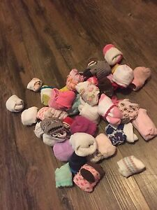 NB-6M socks and mittens (41 pairs)