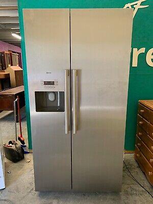 NEFF Stainless American Style Fridge Freezer with Ice Maker