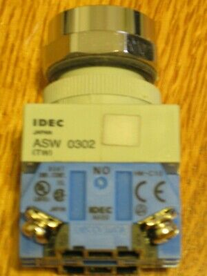 Idec Asw320 Rotary Switch 3 Position 120-600vac 10a Tw W Hand-off-auto Legend