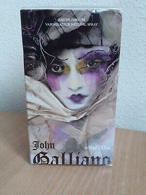 JOHN GALLIANO 60ML EDP SPRAY - SEALED IN CELLOPHANE DISCONTINUED, RARE***