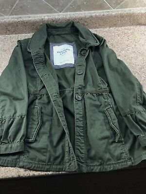 Abercrombie & Fitch Women's Jacket Army Green
