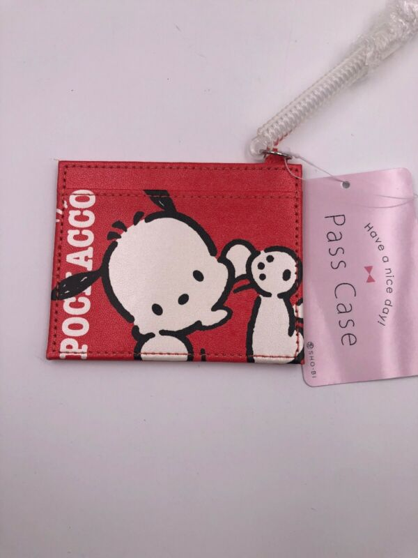 Sanrio Pochacco RED ID Card Holder (D5)