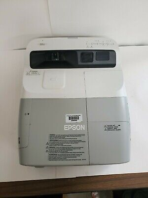Epson BrightLink 450Wi 3LCD 2500 ANSI Lumens Projector With 320 Used Lamp Hours