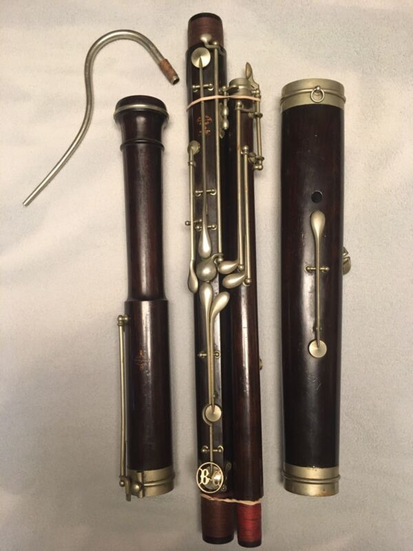 Antique Buffet Crampon French Bassoon