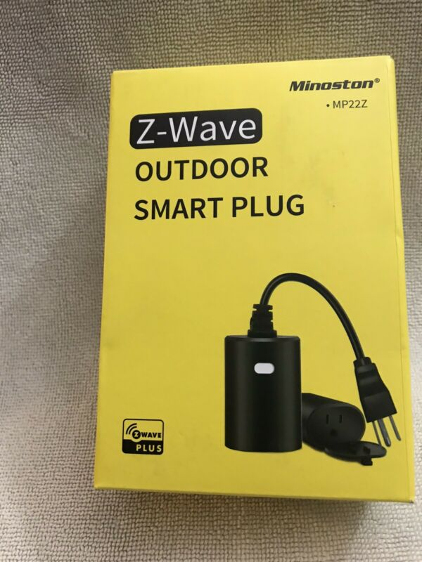 Minoston MP22Z Z-Wave Outdoor Smart Plug New
