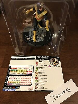 Marvel Heroclix Avengers Infinity Wasp, Heart of the Avengers G011 Rare Colossal