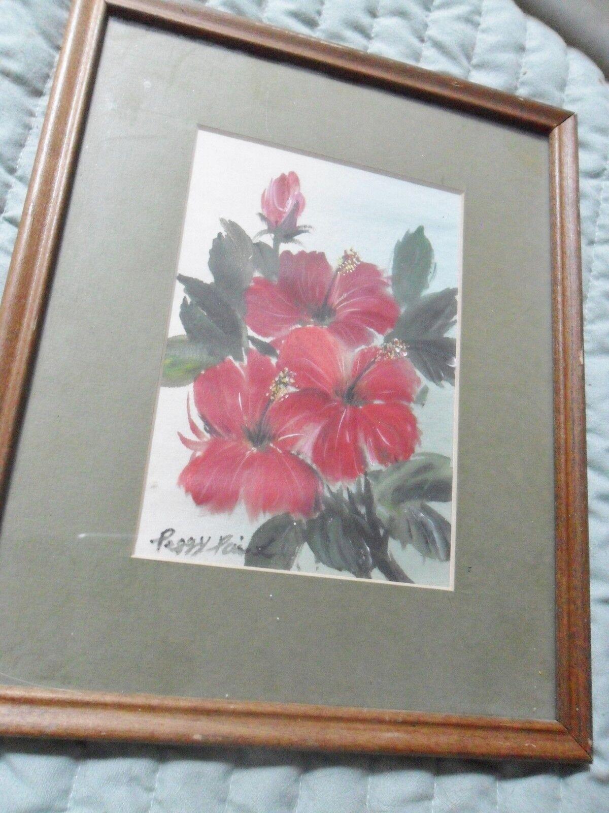 Peggy pai original oil on board hibiscus hawaii state flower peggy pai original oil on board hibiscus hawaii state flower dedicated izmirmasajfo