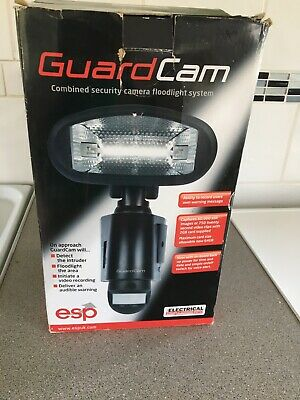 Guard Cam Combined Security Camera Floodlight System