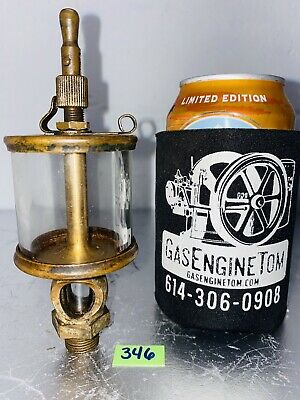 Lunkenheimer No. 2 Fig 1300 Sentinel Brass Oiler Hit Miss Gas Engine Antique