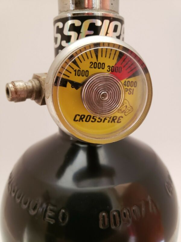 Crossfire 3000 PSI Paintball Valve And Catalina Cylinders Tank