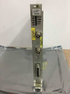 Cds Tektronix 73a-455 Dual Channel 1553 Tester Vxi Board
