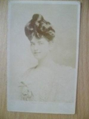 1904 Used Postcard- Theatre Actress MISS CLARITA VIDAL