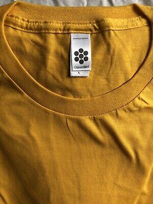 American Apparel Women's/Girls T-Shirt 100% Combed Cotton New, SLIM FIT Girls Ladies Shirt