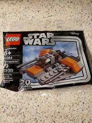 NIP Lego Disney Star Wars Snow-speeder 49 pc polybag 30384 20 Year Anniversary