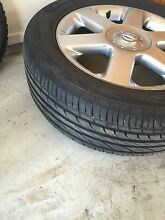 Nissan Elgrand 4 original rims and tyres Wattle Grove Liverpool Area Preview
