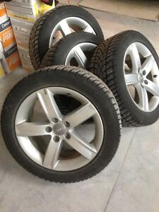 Dunlop winter sport tires and rims