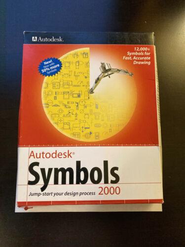 Vintage Autodesk Symbols 2000 Software
