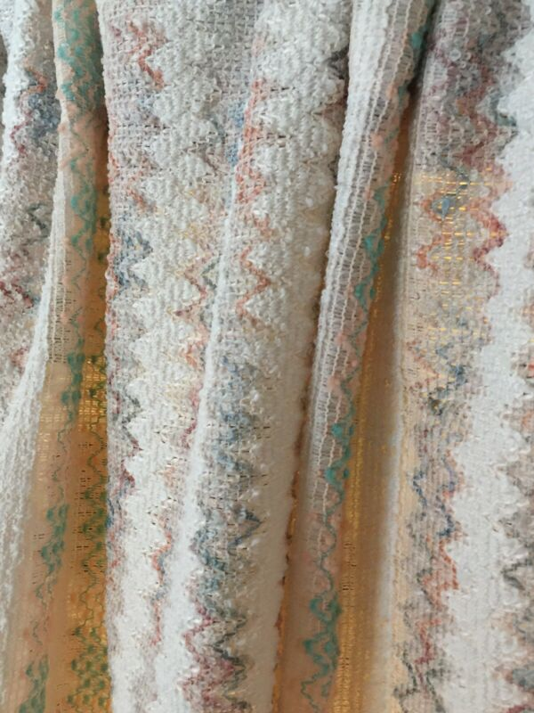 Authentic RETRO Vintage Linen Breathable Heavy & Sheer 2 Panel Drapes/Curtains