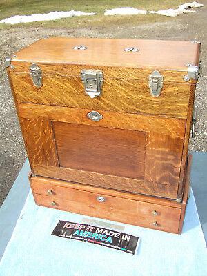Gerstner Golden Oak 042 11drawer Box And Wood Base With Keys Included Toolmaker