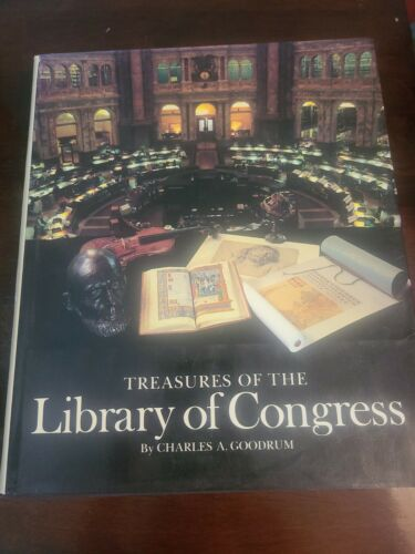 Treasures Of The Library Of Congress 1986, By Charles A.Goodrum Printed In Japan - $4.95