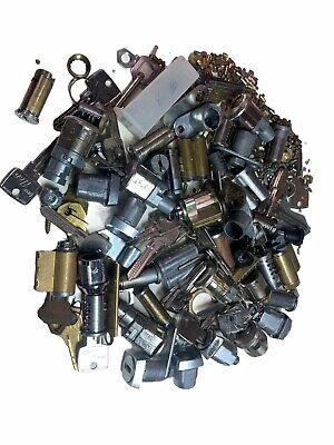 Mixed Lot Locksmith Cam Lock Key Cabinet Parts Tubular Mortise