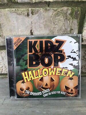 Kidz Bop Halloween Cd (Kidz Bop: Halloween [Bonus Tracks] by Kidz Bop Kids (2008) Acceptable)