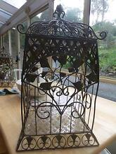 BEAUTIFUL, LARGE, VINTAGE DECORATIVE WIRE CAGE - 60 cm tall Otago Clarence Area Preview