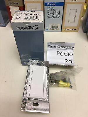 LUTRON RRD-6D-WH RADIORA2 600W DIMMER WHITE ....NEW!!