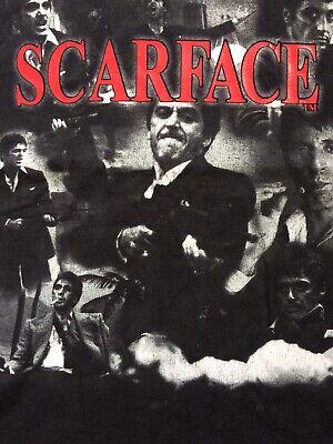Vintage Scarface Shirt sz L Tony Montanta Cult Film TWISM Delta Pro Pacino TM
