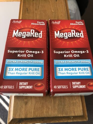 NEW Schiff MegaRed Superior Omega-3 Krill Oil Extra Strength