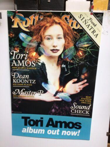 "TORI AMOS ROLLING STONE 1998 promo poster. 24"" x 36"""