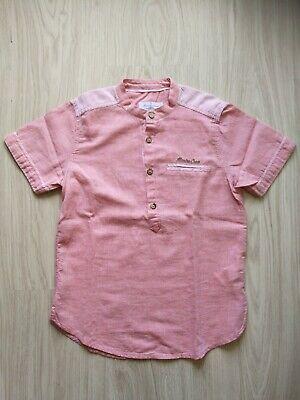 Jungen Leinen Hemd (Leinenhemd Sommerhemd Junge Gr.122-128 LC Waikiki)