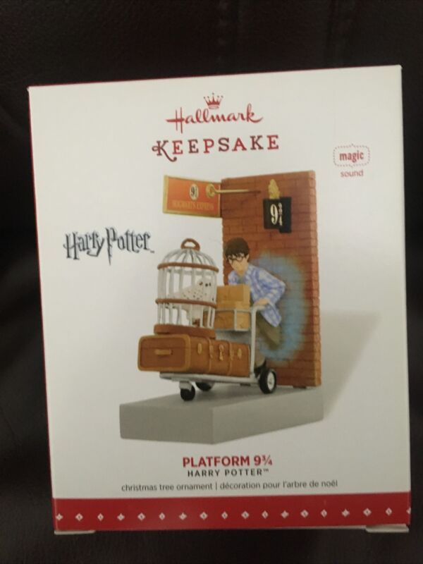 Hallmark Keepsake Harry Potter Ornament 2015 Platform 9 3/4