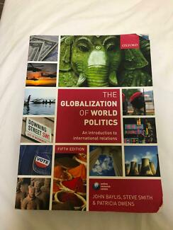 The globalization of world politics 5th edition textbook