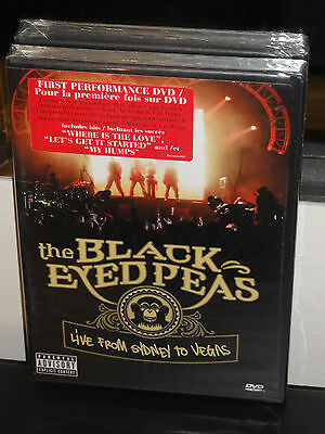 The Black Eyed Peas - Live From Sydney to Las Vegas (DVD) BRAND NEW! ()
