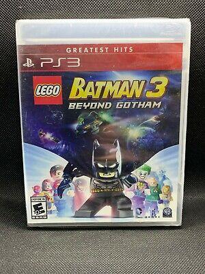 LEGO Batman 3: Beyond Gotham PS3 New PlayStation 3, Playstation 3 Greatest Hits