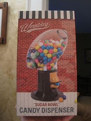 "NEW Wembley ""Sugar Bowl"" Football Candy Gumball Dispenser Machine (L2)"