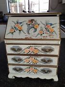 Vintage  french provincial model of writing bureau/ jewellery  box Endeavour Hills Casey Area Preview