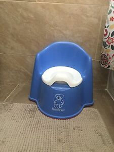 Baby bjorn blue potty