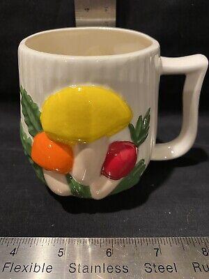 Vintage Arnel's Mushroom Ceramic Coffee Mug Cup