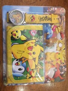 Pokemon wallet with watch - $10.00