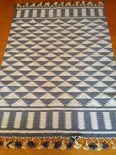 Grey Rug with Tassles Chatswood Willoughby Area Preview