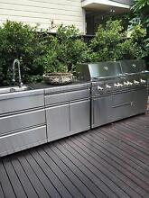 """Turbo Grand 6 Burner BBQ + Rotisserie"""" only 18 months old !! Mosman Mosman Area Preview"""