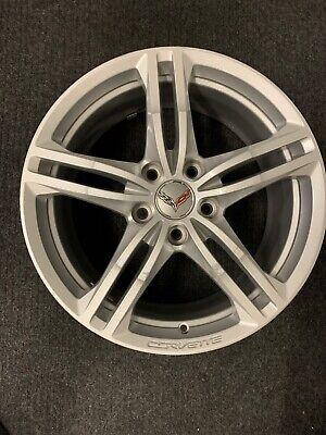 """18"""" 18X8.5 CHEVY CORVETTE 2016-2018 2019 FRONT OEM Factory Alloy Wheel Rim 5729"""