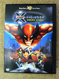DVD-X-Men-Evolution-La-Rebelion-de-los-Mutantes