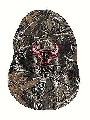 Chicago Bulls Camo SnapBack NBA Basketball Windy City Camo New Century Jordan